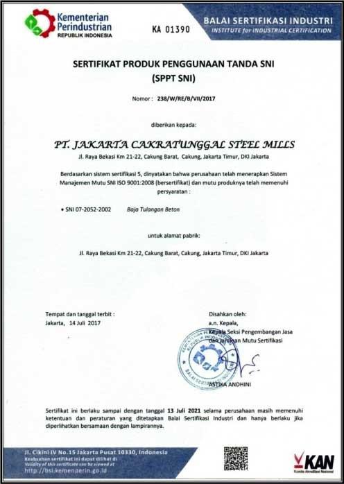 SPPT SNI telah menerapkan Sistem Manajemen Mutu SNI ISO 9001:2008