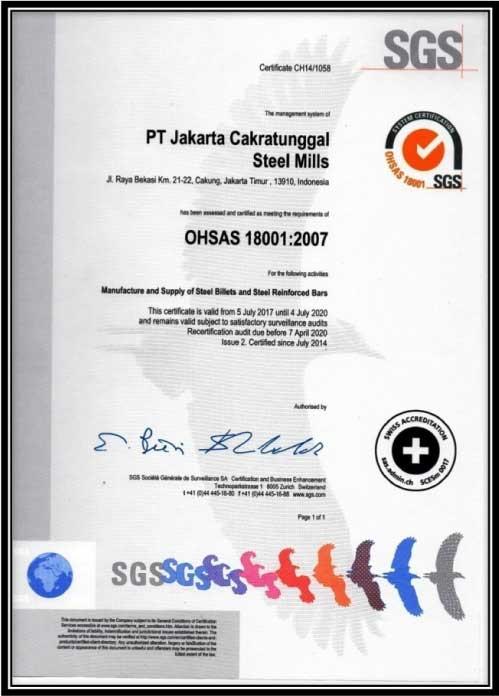OHSAS 18001:2007 / Sistem Manajemen K3