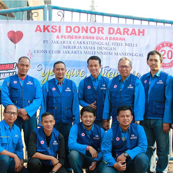 CSR Cakrasteel Donor - 1