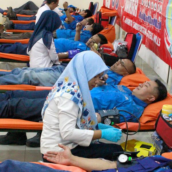 CSR Cakrasteel Donor - 2