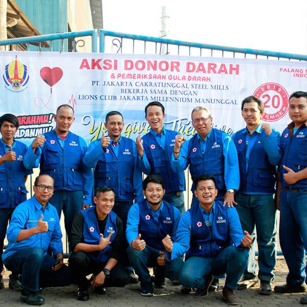 CSR Cakrasteel Donor - 8